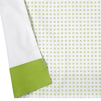 Fine Prints Reversible Crib Skirt