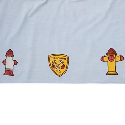 Crib Skirt (Fire Cadet Print)