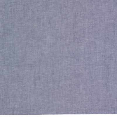 Crib Skirt (Blue Chambray)