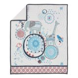 Painted Parade Baby Quilt