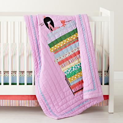 Princess and the Pea Crib Skirt