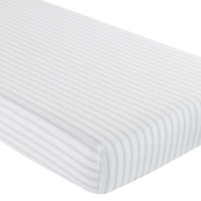Sherbet Stripes Crib Fitted Sheet