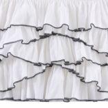 Swan Soiree Crib Skirt