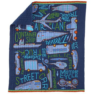 Transit Authority Crib Quilt