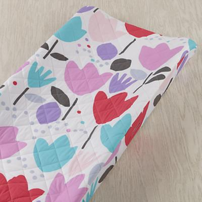 Tulip Festival Changing Pad Cover