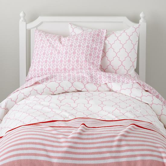Updated Pink And Turquoise Kids Bedding