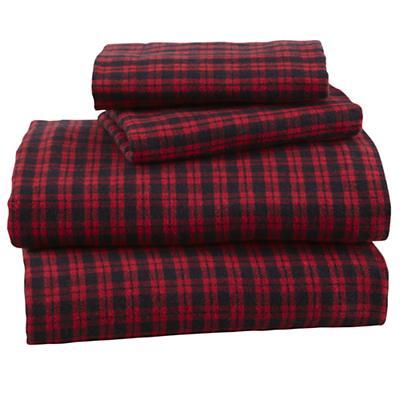 Northwoods Flannel Sheet Set (Queen)