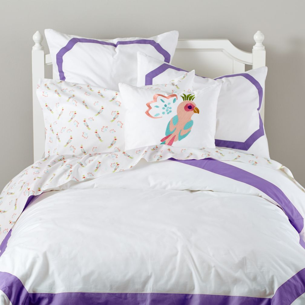 Bordeaux Bedding (Purple)