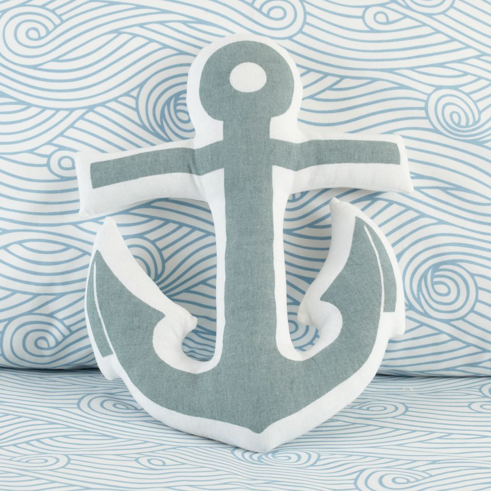 Anchors Away Pillow - The Land of Nod