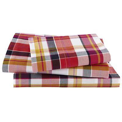 Pick Your Plaid Pink Sheet Set (Twin)