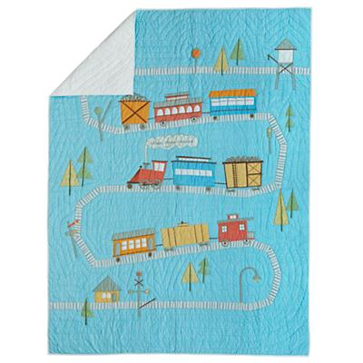 Ride the Rails Quilt (Twin)