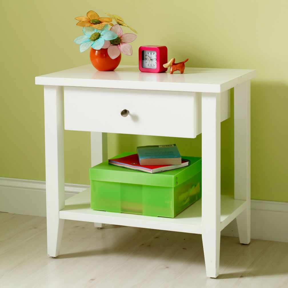 Blake Nightstand (White)