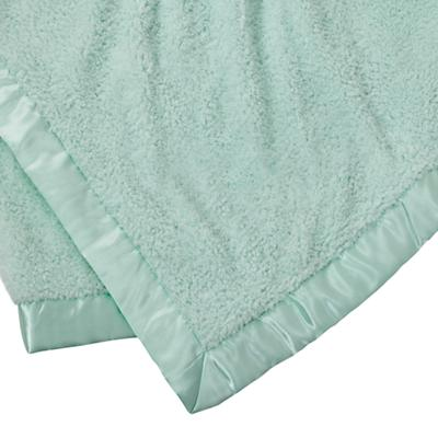 Personalized Cuddle Me Softly Baby Blanket (Lt. Green)