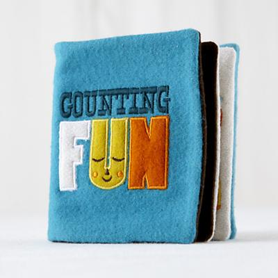 Counting Fun Felt Book