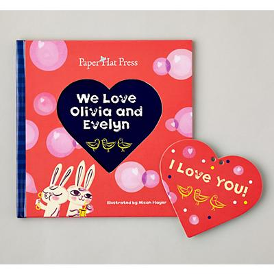 I Love You Personalized Book