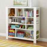 Compartment Department Bookcase (White)