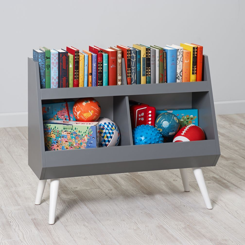 Next Chapter Bookcase (Grey/White)