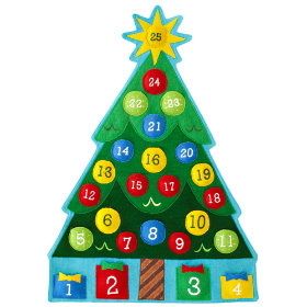 Holiday Cheer Countdown Calendar