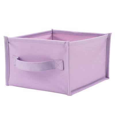 I Think I Canvas Shelf Bin (Lavender)