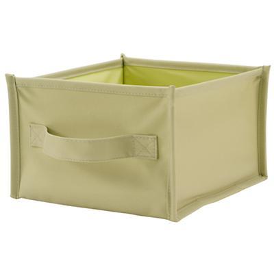 I Think I Canvas Shelf Bin (Lt. Green)