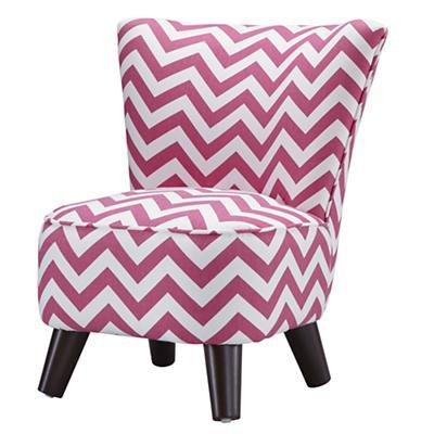 Little Slipper Chair (Pink Zig Zag)