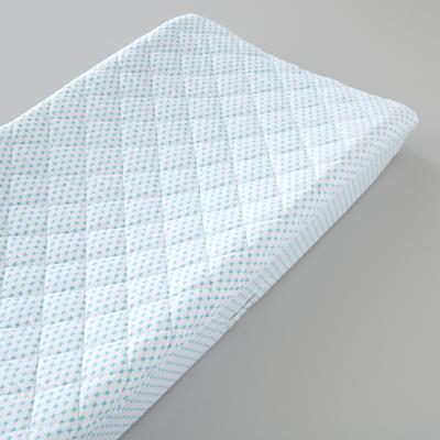 Changer Pad Cover (Aqua Diamonds)