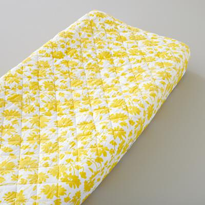 Yellow Floral Changer Cover