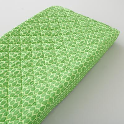 Changer Pad Cover (Green Leaf Print)