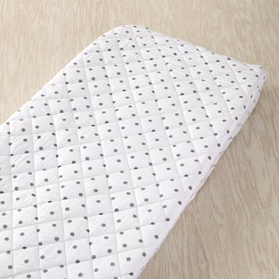 Dream Girl Changing Pad Cover (Grey Dot)