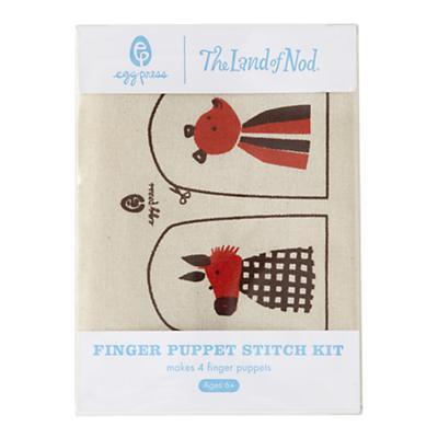 Animal Finger Puppet Stitch Kit