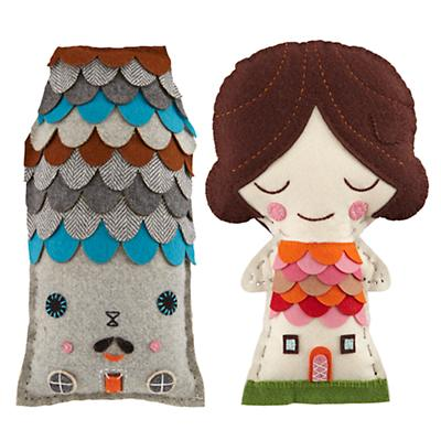 Sherwood and Tulip Stitch Kits (Set of 2)