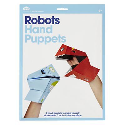 Robot Hand Puppets