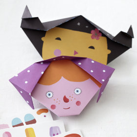 Origami Faces Kits