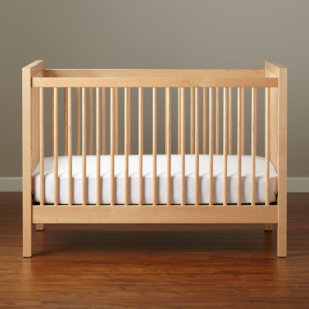 light wood crib 1
