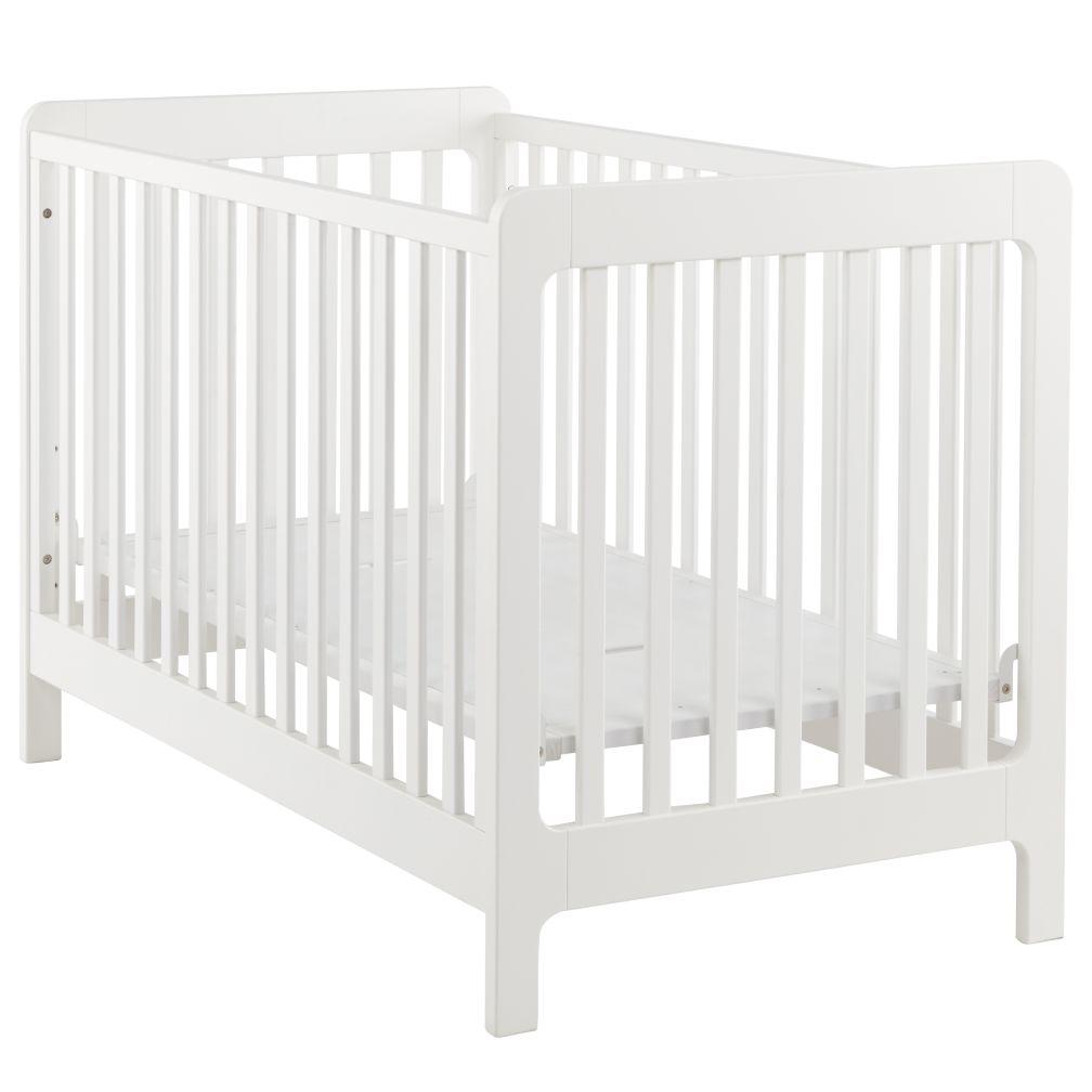 Carousel Crib (White)