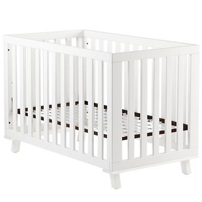 White Low-Rise Crib