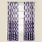 "63"" Purple Bazaar Curtain Panel(Sold individually)"