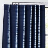 "63"" Tie-Dye Curtain Panel (Blue)"