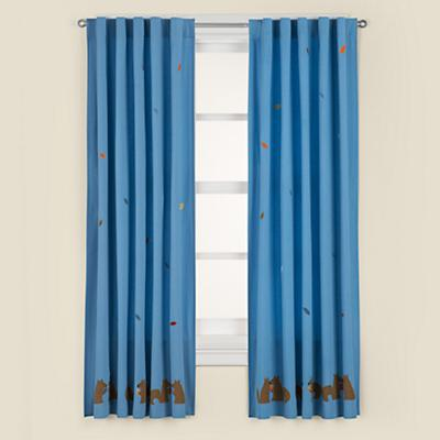 "84"" Bright Eyed, Bushy Tailed Curtain Panel"