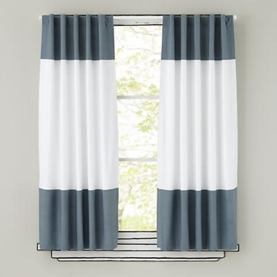 "96"" Color Edge Curtain Panel (Grey)"