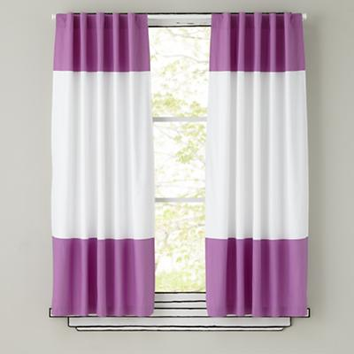 Curtains With Purple In Them