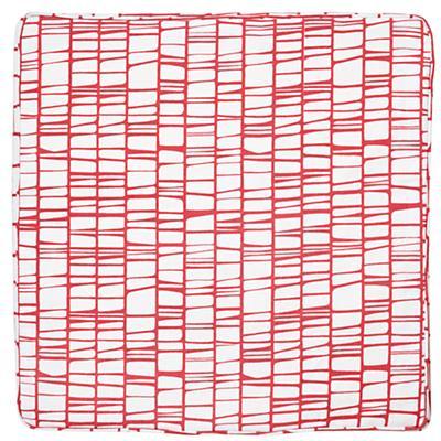 Modern 1-Cube Bench Cushion (Pink)