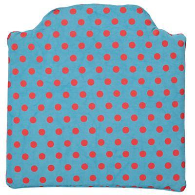 Chelsea Play Chair Cushion (Teal Dot)