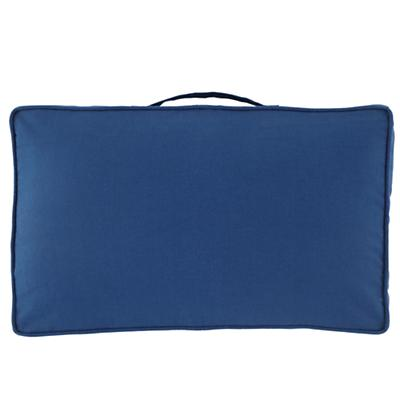 "32"" Laying Low Cushion (Blue)"