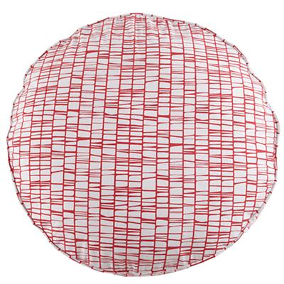 "32"" Pink Modern Cushion"