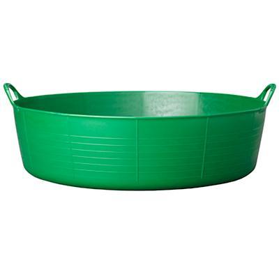 Large Shallow Tubtrug® Tub (Dk. Green)