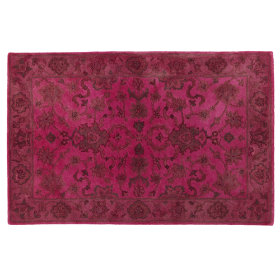 Royal Treatment Overdyed Rug (Pink)