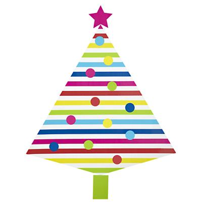 Artificial Christmas Tree Decal