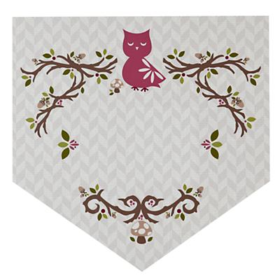 Fable Monogram Wall Decal (Owl)