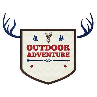 Adventure Monogram Decal (Outdoor)